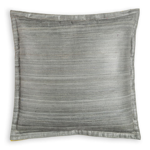 Cool Grey Tussar - 16x16