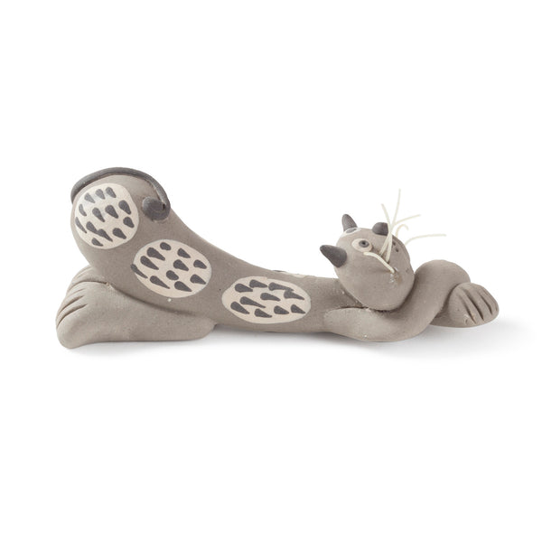 Miniature Clay Animal - Cat