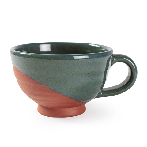 Glazed Clay Cups 3.25x2.25