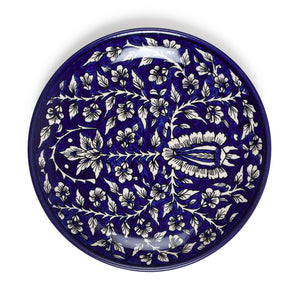 Hand Painted Ceramic Plate - 10""