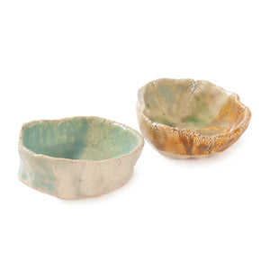 Stoneware Clay Dip Bowl - Single Pc