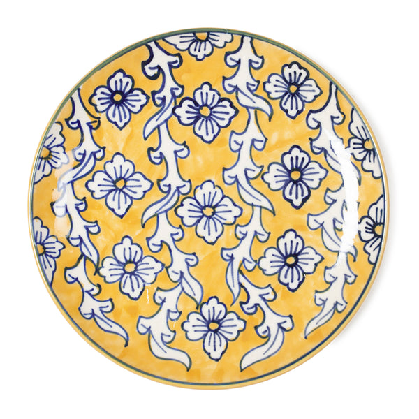 Hand Painted Ceramic Plate - 8.25""