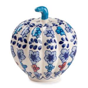 Handpainted Ceramic Pumpkin