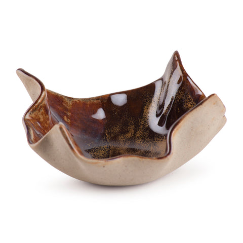 Glazed Terracotta Bowl - 5.5x5.5 Single Pc