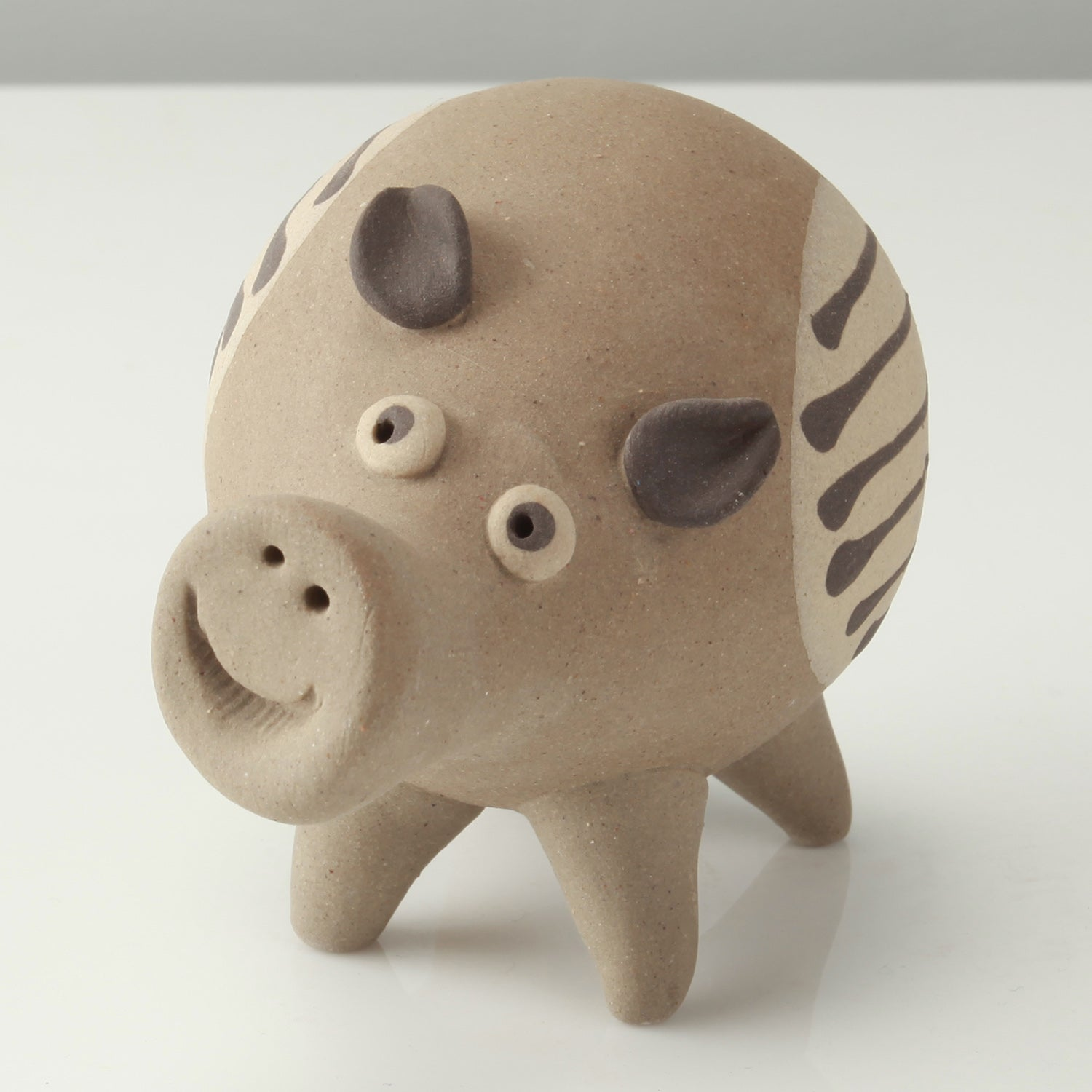 Miniature Clay Animals - Pigs