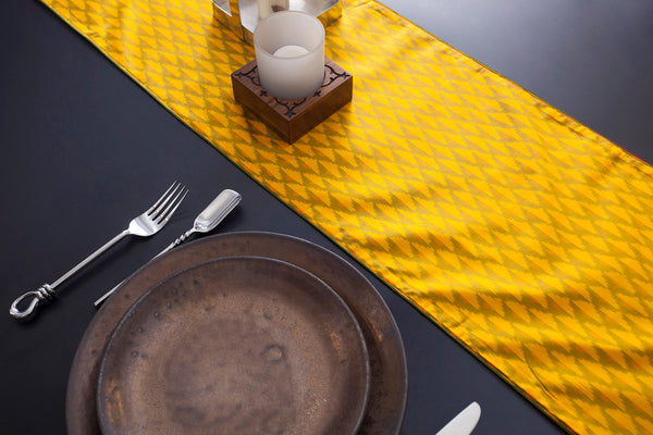 Spring Greens Table Runner - Eyaas