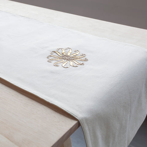 Glory Chanderi Table Runner