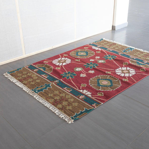Woollen Rug 4.5x6.5 Ft - Eyaas