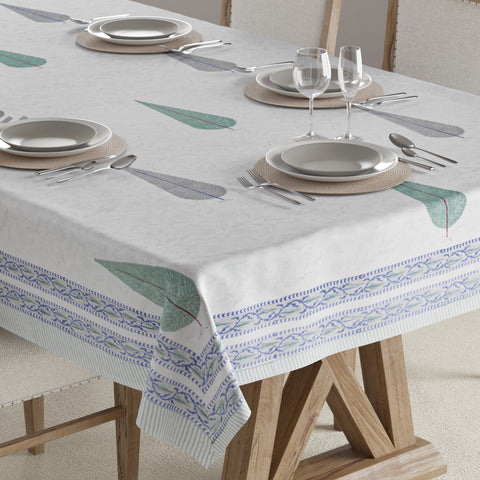 Block Print Table Cover - 60x90""