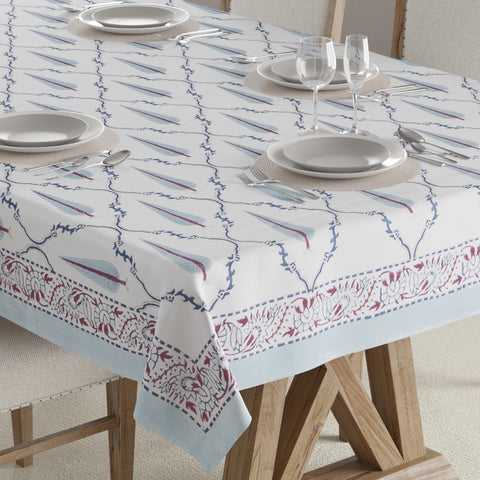 Block Print Table Cover - 60x90