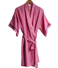 Load image into Gallery viewer, Pink, Lilac and Yellow Kimono