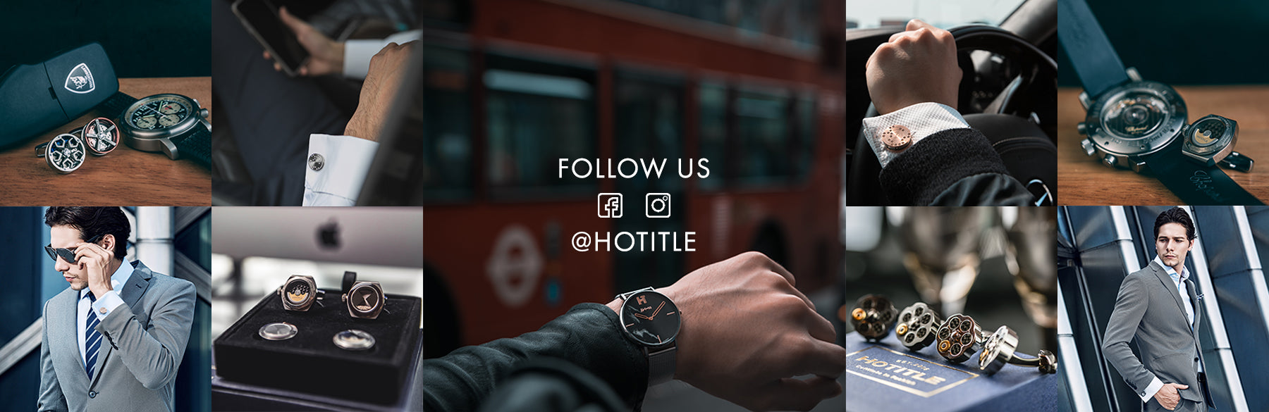 Follow HOTITLE on social media