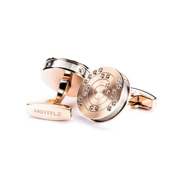 Ti22 Cufflinks (Rose Gold)