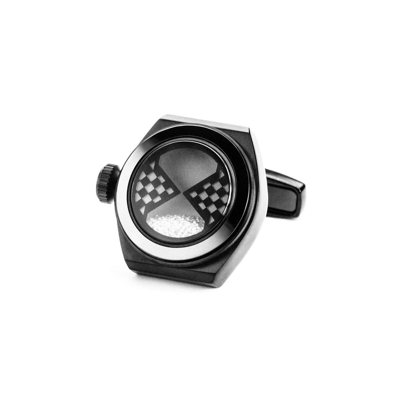 Eternity Interchangeable Cufflinks (Black Set C)
