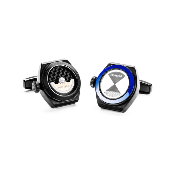 Eternity Cufflinks (Black Set A)
