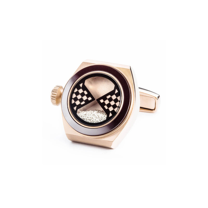 Eternity Cufflinks (Rose Gold)