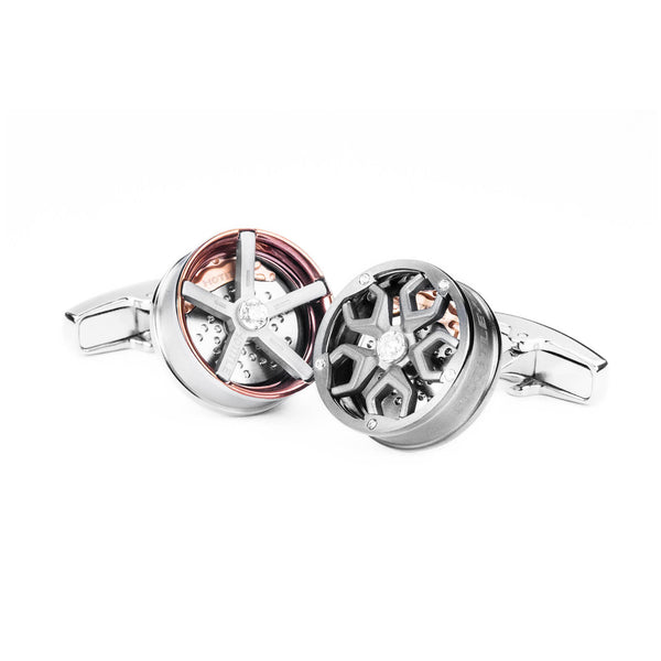 Speed Racer Interchangeable Cufflinks (Set F)