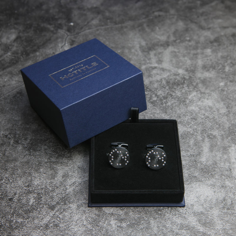 Ti22 Cufflinks (Black Set B)