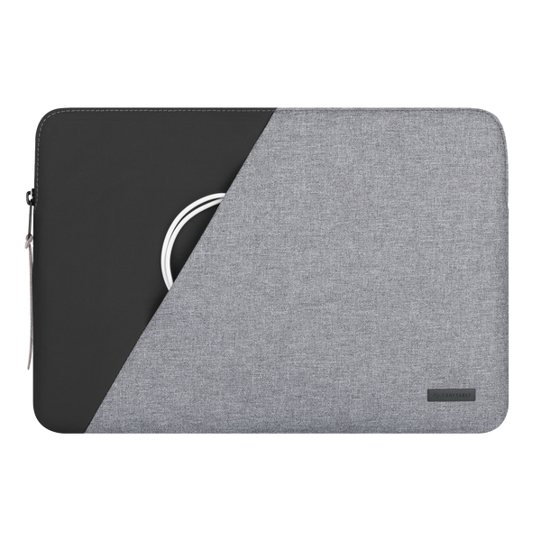 Black & Grey Laptop sleeve 13 inch