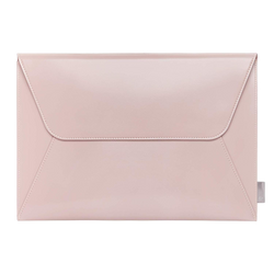 Leather Laptop Envelope Sleeve 13-13.3 Inch - Pink - Comfyable
