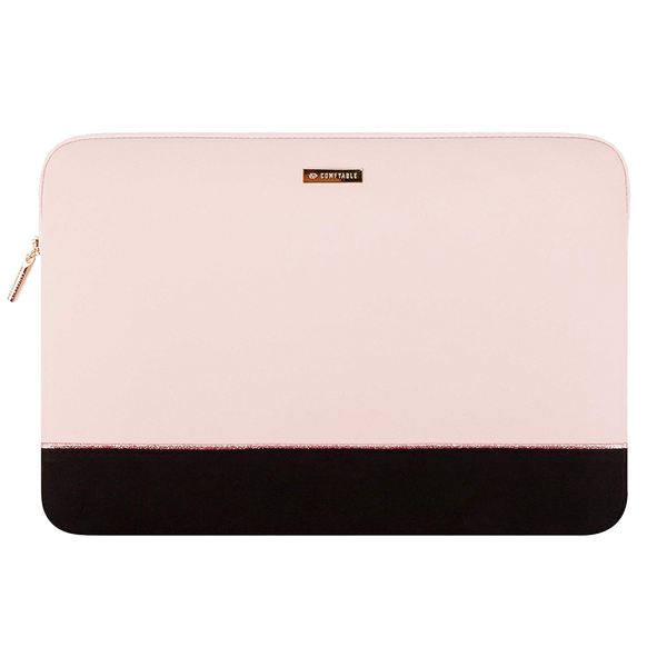 Laptop Sleeve 13 & 15 inch - Pink & Black - Comfyable