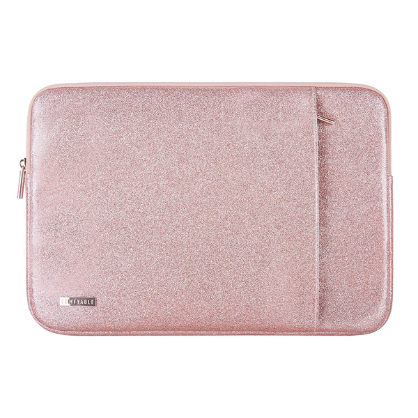 "Laptop Sleeve (13""&15"") - Rose Gold Pink Glitter - Comfyable"