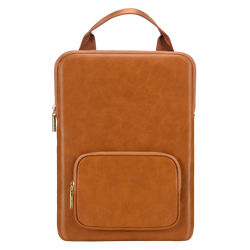 Laptop Sleeve with Accessory Pocket and Handle 13 Inch - Brown