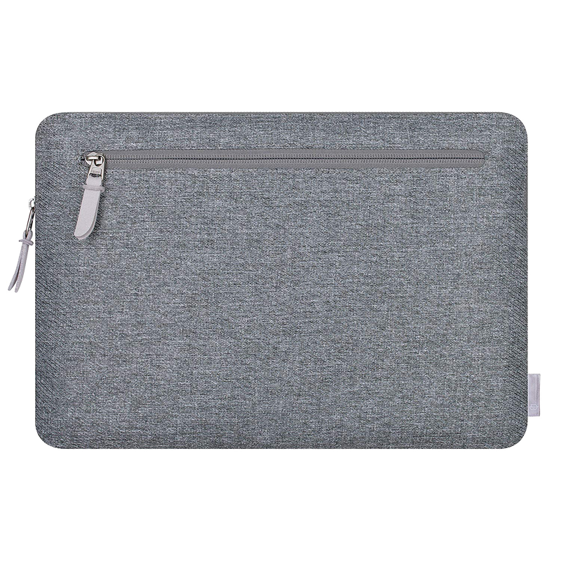 Laptop Sleeve with Pocket 13 & 15 inch  - Dark Grey - Comfyable