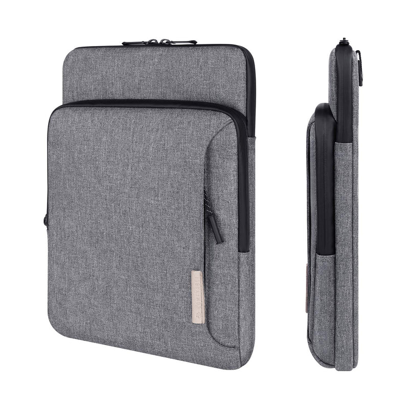 Laptop Shoulder Bag 13 inch with Organized Pockets - Dark Gray