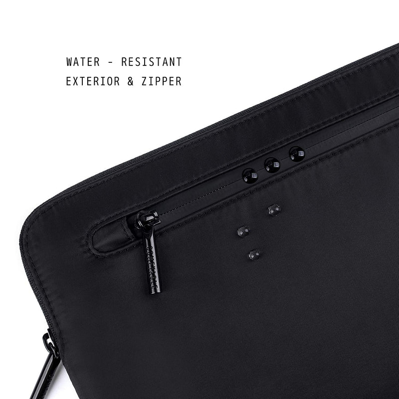 Laptop Sleeve with Pocket 13 & 15 inch - Black - Comfyable
