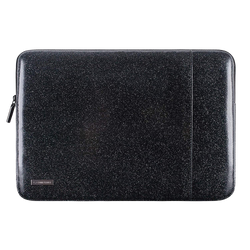 "Laptop Sleeve for MacBook Pro  & Mac Air (13""&15"") -Black Glitter - Comfyable"