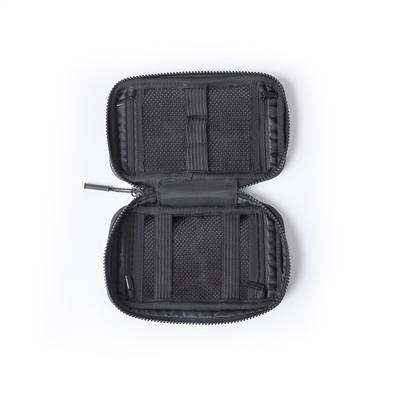 Small Power Cord Holder Bag - Black