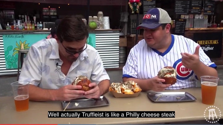 Boozin' Burgers: National Cheeseburger Day with Barstool Sports
