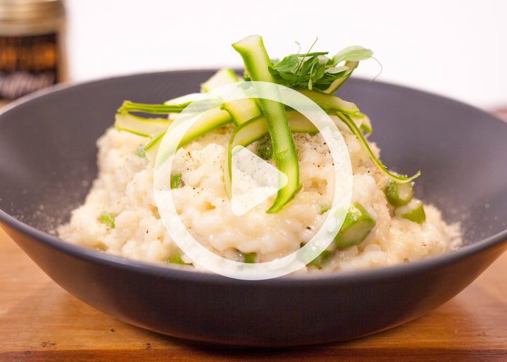 Asparagus Truffle Risotto