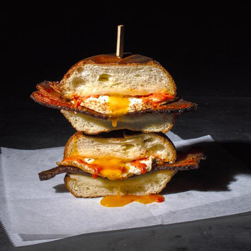 Truffled Bacon, Egg & Cheese Sandwich