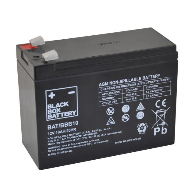 10Ah Black Box AGM Battery