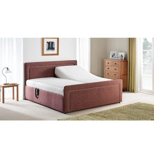 Roma Deluxe Adjustable Bed with Luxury Mattress