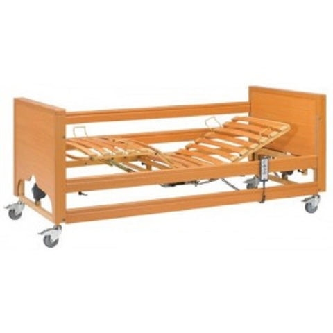Newark Hi-Lo Healthcare Profiling Bed with Integral side rails