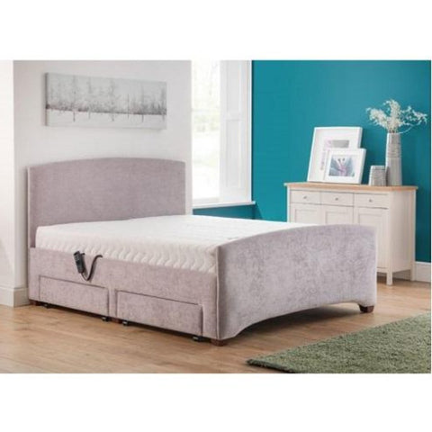 Turin Deluxe Adjustable Bed with Luxury Mattress