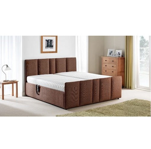 Verona Deluxe Adjustable Bed with Luxury Mattress