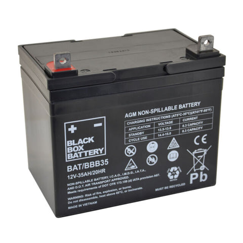 35Ah Black Box AGM Battery