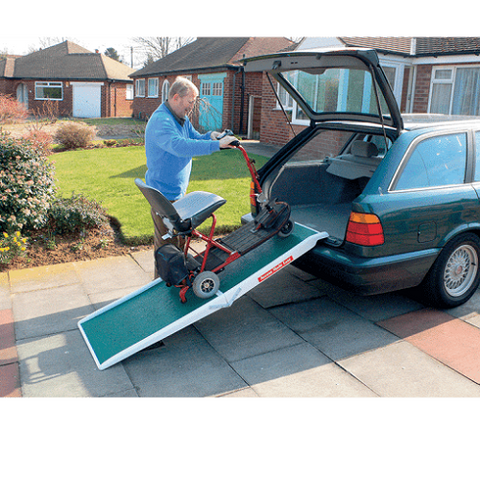 Fibreglass Scooter Ramp