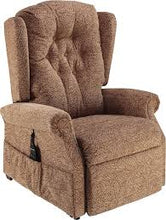 Load image into Gallery viewer, Ambassador Cosi Chair Button Back Dual Motor Riser Recliner