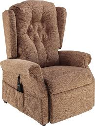 Ambassador Cosi Chair Button Back Dual Motor Riser Recliner