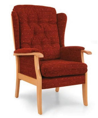 Salisbury Straight Leg High Back Chair