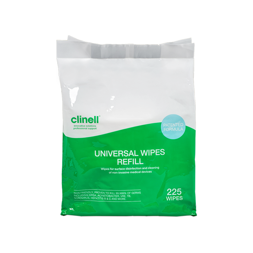 Clinell Universal Wipes Bucket Refill Pack 225