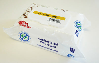 Clinical Universal Sanitising Wipes Pack 72