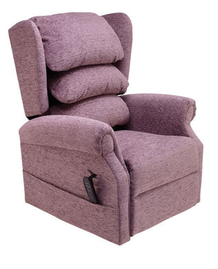 Ellen Single Motor Waterfall Cosi Chair Riser Recliner