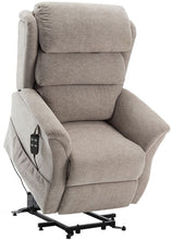 Load image into Gallery viewer, Hampshire Waterfall Back Dual Motor Riser Recliner