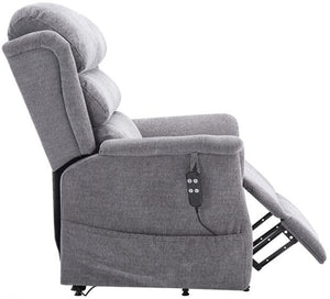 Hampshire Waterfall Back Dual Motor Riser Recliner